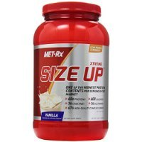 MET-Rx Size Up Gainer Diet Supplement, Vanilla, 3 Pound by MET-Rx
