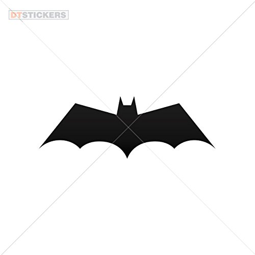 Vinyl Sticker Decals Halloween Batman Sports Bike (7 X 2,47 In. ) Vinyl color Black]()