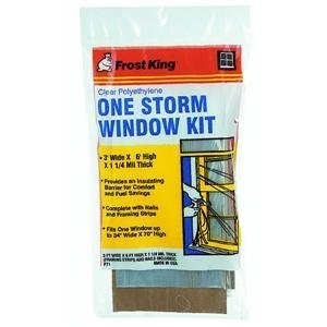 Thermwell Prods. Co. P71A Frost King Storm Window Kit -