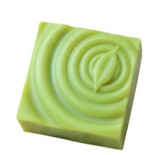 - Grainrain Leaf Square White Diy Craft Art Handmade Soap Making Molds Flexible Soap Mold Silicone Soap Mould Soap