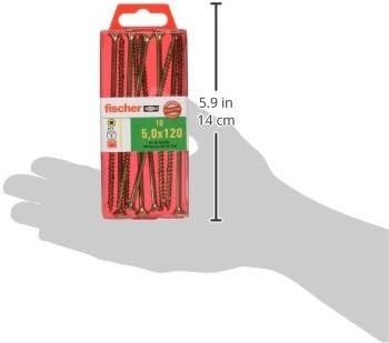 Art.-Nr 653431 Hartholz Spanplattenschrauben mit Senkkopf zur Befestigung von tragenden Bauteilen in Holz 200 St/ück fischer Power-Fast FPF-ST 3,0 x 45 YZP Weichholz uvm. gelbverzinkt