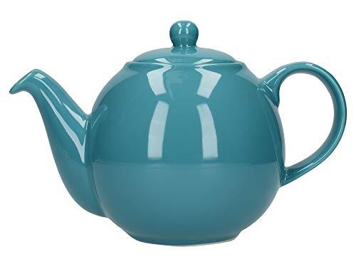 (London Pottery Globe Teapot, Aqua, 4 Cup, Closed Box)