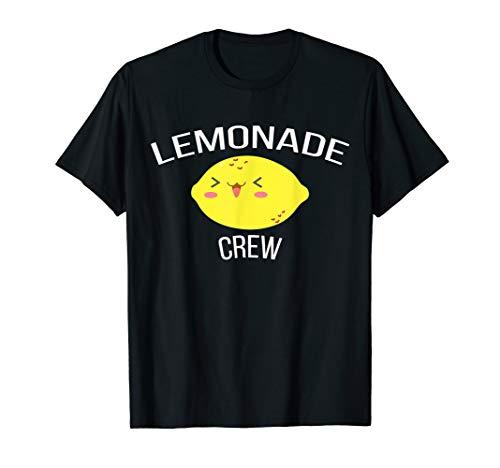 Lemonade Crew: Funny Kids Lemonade Stand T-Shirt (Make Money Have A Lemonade Stand)