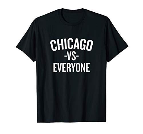 Chicago Vs Everyone T-shirt Halloween Christmas Funny Cool H ()