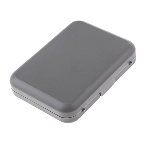 MagiDeal Waterproof Fly Box Easy Grip/Slit Foam Insert Fishing Tackle Box 2