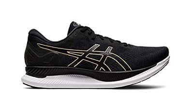 ASICS GlideRide Men Shoe Black/Gold 7.0 D