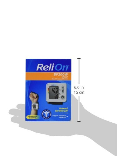 ReliOn Wrist Blood Pressure Monitor, BP200W