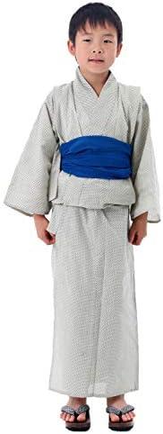 [男着物の加藤商店] 子供浴衣 男の子 単品 130 140サイズ