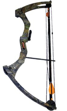 Bear Archery Right Hand Brave 3 Bow Set (APG Camo)