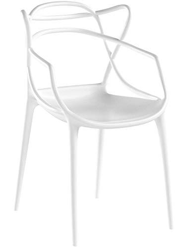 Modway Entangled Dining Set (Set of 4), White by Modway (Image #5)