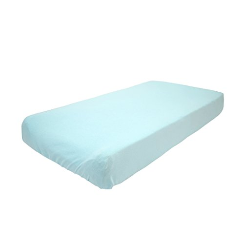 Betty Dain Stretch Jersey Universal Baby Infant Changing Pad Cover, Aqua