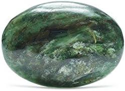 Esmeralda Mineral Piedra Natural Cristaloterapia.–cabuchón