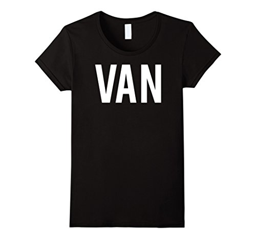 Womens Van T Shirt - Cool new funny name fan cheap gift tee Small - Cheap Vans Women
