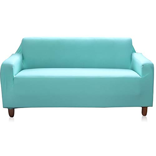 (Homehaven Sofa Slipcover Stretch Covers for Couch 3 Seater,Furniture Protector, (Lake Green, Sofa))