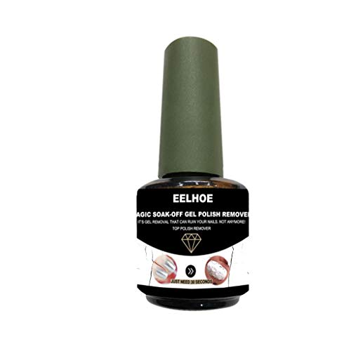 - Nail Cleaner Burst Magic Gel UV LED Polish Polish Professional Remover Soak Off for Gift Box,DIY Don't Hurt Your Nails by BBtime(black)