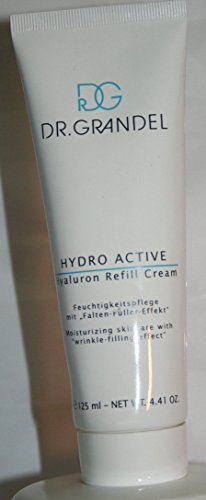 Dr. Grandel Hydro Active Hyaluron Refill Cream 125 Ml Pro Size - Plumps Wrinkles, Fine Lines and Wrinkles Pronounced Itself From the Inside Out On.
