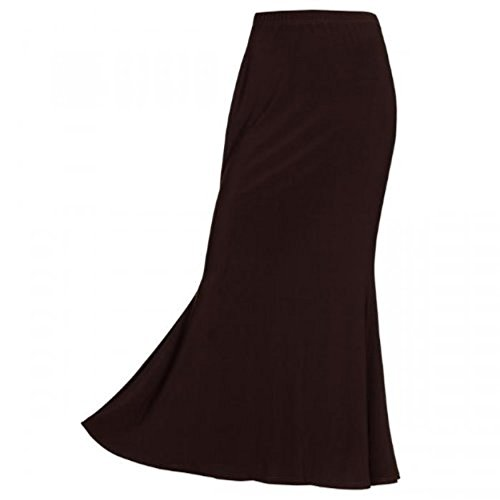 Basic Star - maxi Rock unifarben - mocca
