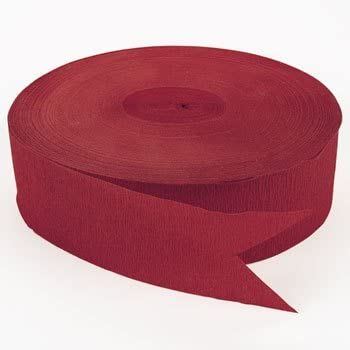 Flame Red Jumbo Streamers (500 ft)