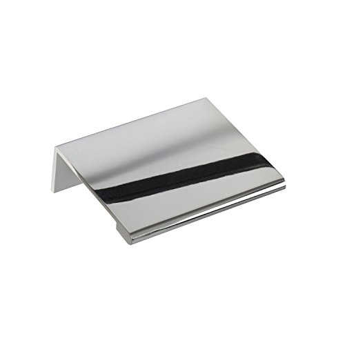 #3154-2 in. CKP Brand Edge Pull, Polished (Chrome Two Handle Pull)
