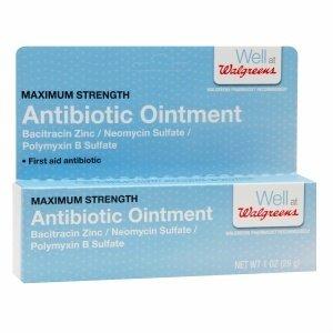 Walgreens First Aid Antibiotic Ointment, 1 oz
