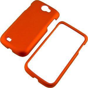 Dark Orange Rubberized Protector Case for Samsung Exhibit II 4G T679