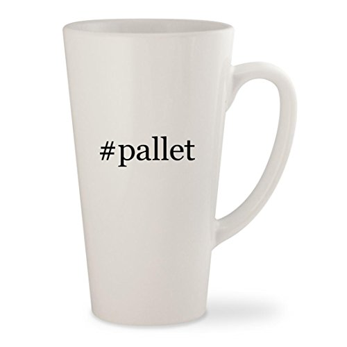 #pallet - White Hashtag 17oz Ceramic Latte Mug Cup (Diy Outdoor Patio Furniture From Pallets)