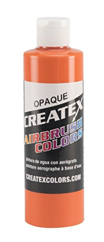 Createx Colors 5208-08 Paint for Airbrush, 8 oz, Opaque Coral