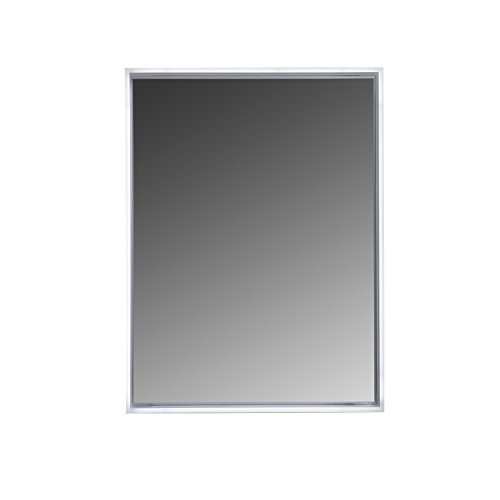 MAYKKE Avery 32' W x 24' H LED Mirror, Wall Mounted Lighted Bathroom Vanity Mirror, Frameless Mirror, Horizontal or Vertical Mirror with LED Lighting Border UL Certified, LMA1024101