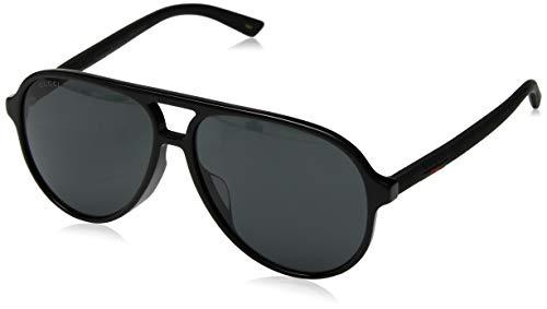 Gucci GG0423SA Sporty Pilot Sunglasses