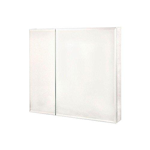 Pegasus Bi-View Beveled Mirror 30W x 30H in. Medicine Cabinet - Cabinet View Mirror Bi