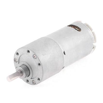 DealMux 2rpm gira a velocidade síncrona Redução elétrica Voltada 12VDC Motor - - Amazon.com