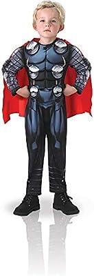 Avengers - Disfraz de Thor Deluxe para niño, 3-4 años (Rubies ...