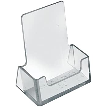 Amazon source one vertical business card holder clear vertical business card holder 25w x colourmoves Image collections