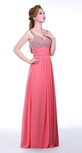 Eudolah - Vestido - para mujer rojo rosso 46