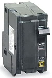 Square D Circuit Breaker, 100 Amp, 2-Pole, QO2100VH
