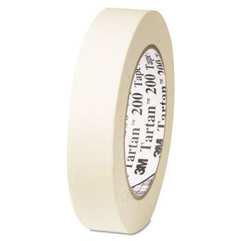 Tartan 200 Masking Tape, Natural, 48mm X 55m, 5.5mil ()