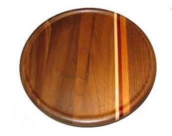 Wisconsinmade Handmade Wooden Lazy Susans, Walnut