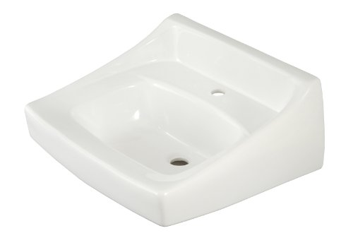 TOTO Lt307#01 1-Hole Wall Mount Lavatory, Cotton White
