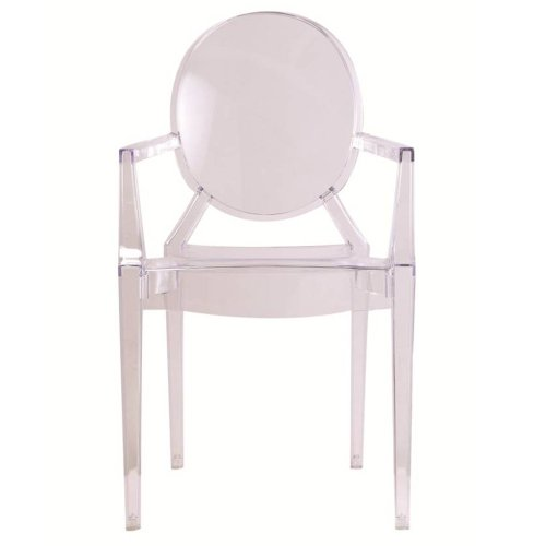 Ghost Arm Chair (2, Clear) Review