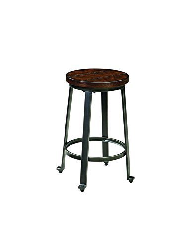 Ashley Furniture Signature Design Challiman Round Dining Room Bar Table,