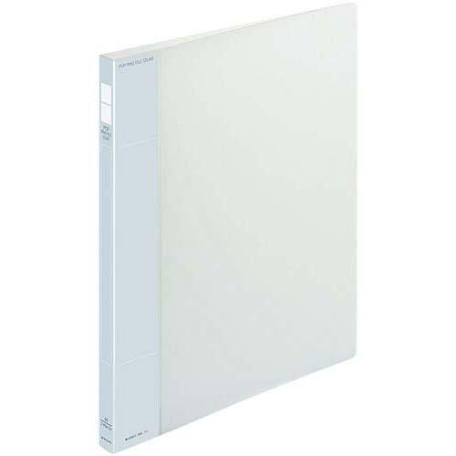 [해외]코크 팝 반지 파일 슬림 투명 A4 세로 높이 너비 21mm10 권의 / Kokuyo Pop ring file slim transparent A4 vertical back width 21MM10 Books