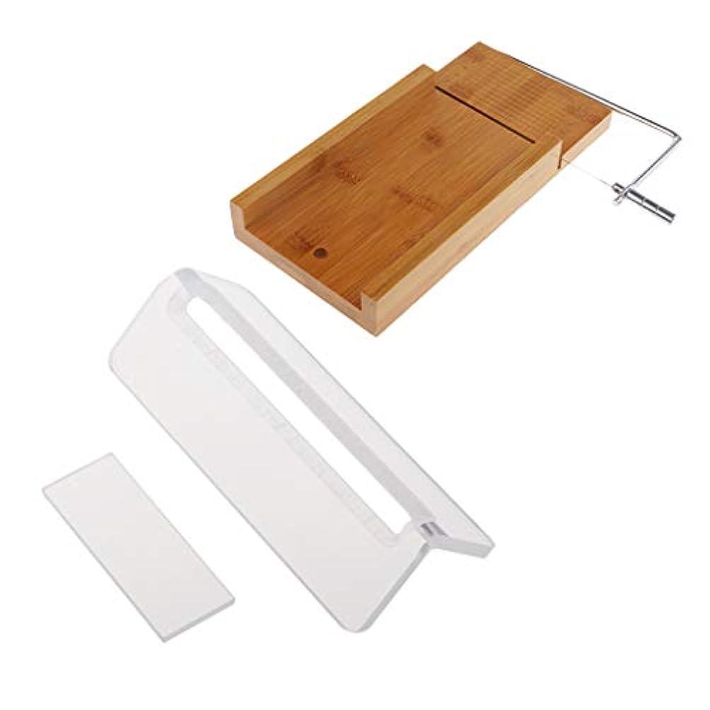 寄生虫同様のその後FLAMEER ローフカッター 木製 ソープ包丁 石鹸カッター 手作り石鹸 DIY キッチン用品 2個入り