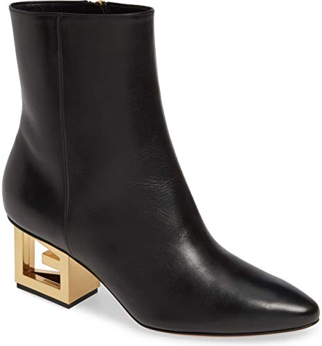 Givenchy Triangle Heel Ankle Bootis Boots Size 37.5 Black