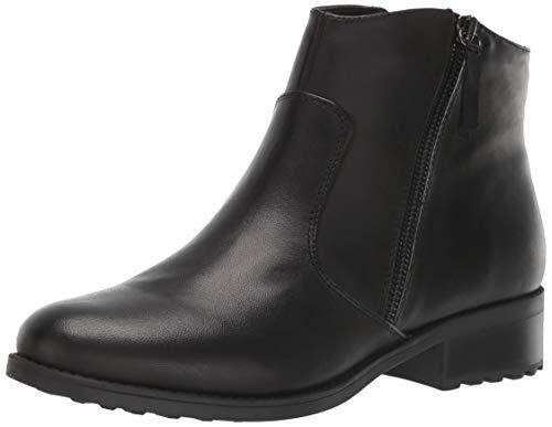 Easy Spirit Women's Rachele Ankle Boot, Black-1, 7.5 M US
