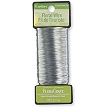 FloraCraft Floral Wire, Bright, 26 Gauge, 270 Feet