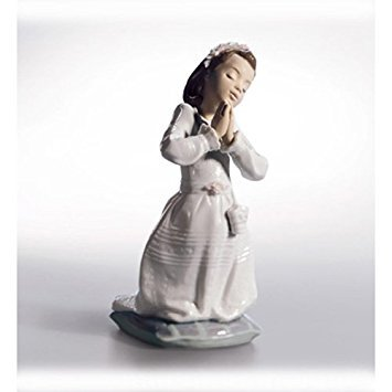 Lladró Communion Prayer (Girl) - Figure Girl Communion
