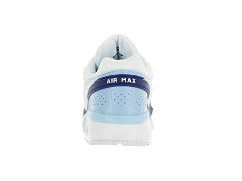 Nike Kids Air Max BW (GS) bluecap/White/Deep Royal Blue Running Shoe 5 Kids US