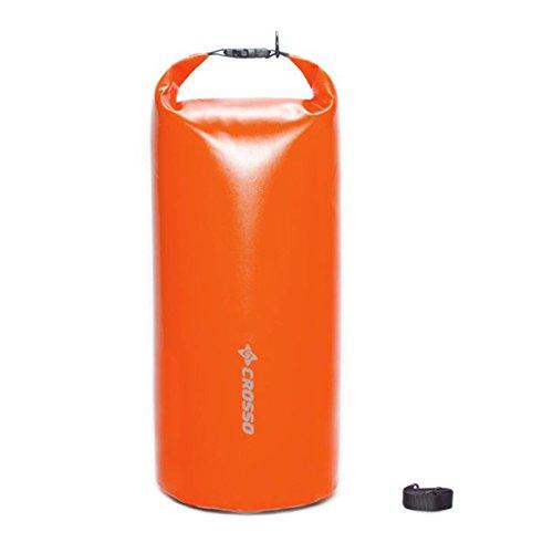 CROSSO Transportbeutel für den Gepäckträger Orange 50 L