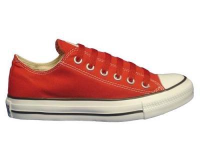 Converse Chuck Taylor All Star Lo Top Rode Canvas Schoenen Met Extra Paar Rode Veters Heren 11