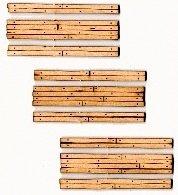 Scale Wood Grade Crossing - HOn3 Scale Wood Grade Crossing pkg(3) -- One Lane